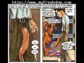 סאדו קומיקס שעבוד עבד שליטה נשית