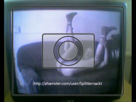 אוננות חמודה מול מצלמת רשת נסתרת!